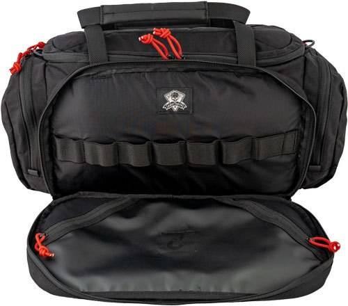 Grey Ghost Gear Grey Ghost Gear Range Bag - Black W/red Zipper Pulls