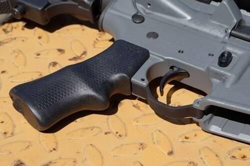 AB Arms Ab Arms Grip Sbr P Pistol Grip - Ar-15 Black