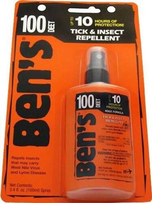 AMK Amk Bens 100 Insect Repellent - 100percent Deet 3.4oz Pump carded