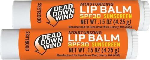 Dead Down Wind Ddw Lip Balm W/spf-30 Oderless - E2 3d 8.5 Gram 2pk