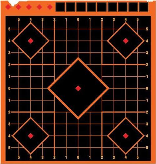 Allen Allen Ez Aim Reflective Target - 9 Bullseye 4-pack