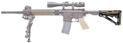 Hogue Hogue Ar-15 Collapsible Stock - Fde Rubber Commercial
