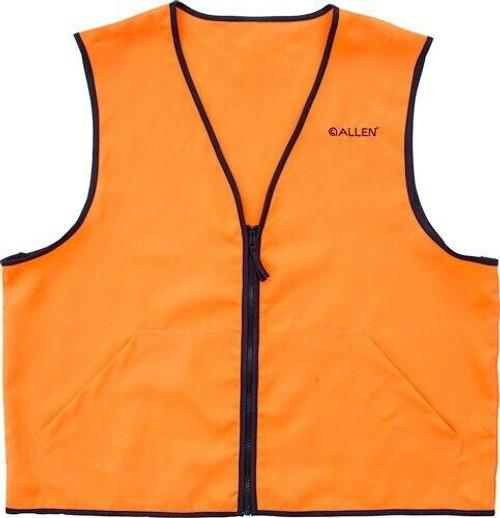 Allen Allen Deluxe Hunting Vest - Orange Large 2 Front Pockets