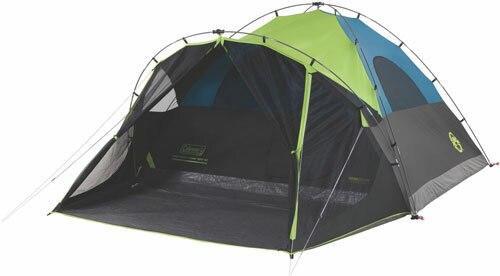 Coleman Coleman Carlsbad Darkroom Dome - Tent W/screen Room 6 Person