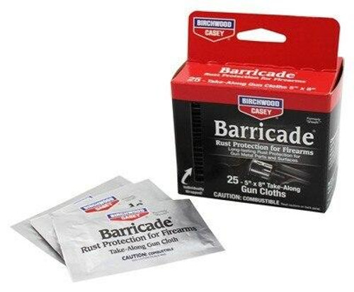 Birchwood Casey B/c Barricade Rust Protection - 25-individually Packed Wipes