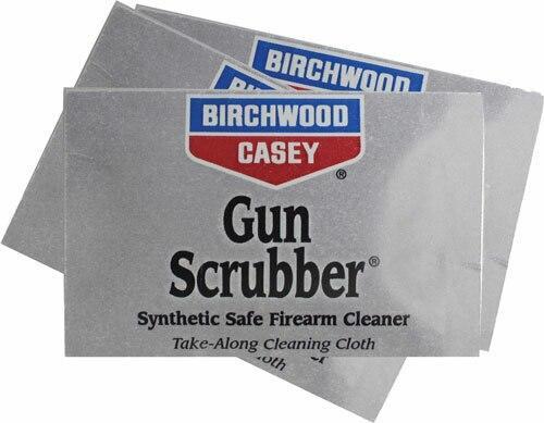 Birchwood Casey B/c Gun Scrubber Firearm - Cleaner Take-alongs 12 Wipes
