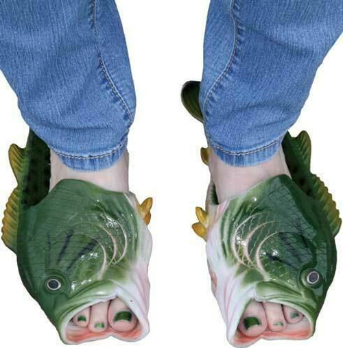 Rivers Edge Rivers Edge Bass Fish Sandals - Adult Large Size 11/12