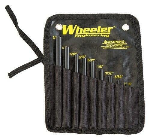 Wheeler Wheeler 9-pc Roll Pin Starter - Set W/storage Pouch