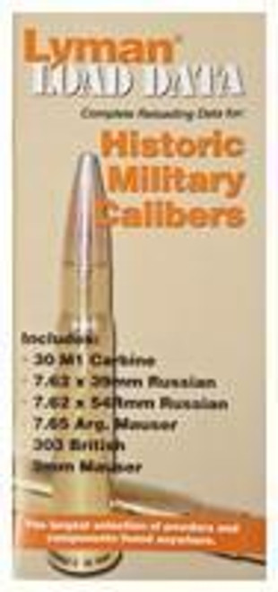 Lyman Lyman Load Data Book Old - Military Calibers 72 Pages