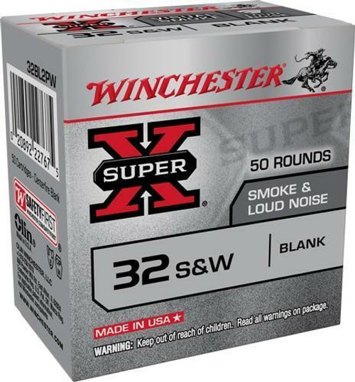 Winchester Win Ammo Super-x .32sw Smoke - and Noise Blanks 50-pack