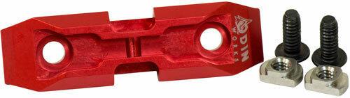 Odin Works Odin Bipod Adapter M-lok - Low Profile Red