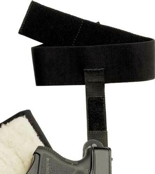 Galco Galco Ankle Calf Strap For - Ankle Glove/lite Holsters Blk