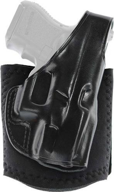 Galco Galco Ankle Glove Holster Rh - Leather Glock 48 Black