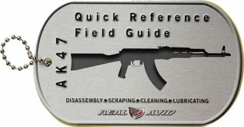 Real Avid Real Avid Ak47 Field Guide - Ak47 Maintenance Cards