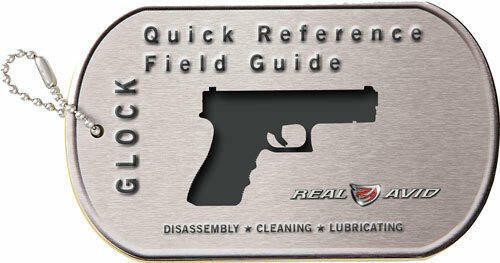 Real Avid Real Avid Glock Field Guide - Glock Maintenance Cards