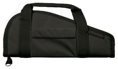 Bulldog Bulldog Pistol Case 18 Black - Accessory Pocket and Carry Strap