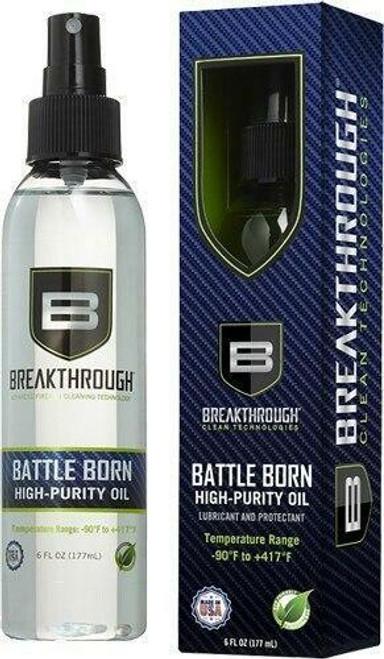 Breakthrough cleaning Breakthrough Battle Born High - Purity Oil 6oz Bottle Odorless