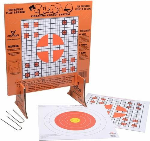 30-06 Outdoors 30-06 Outdoors Paper Target El - Cheapo Sight-in W/stand 40ct