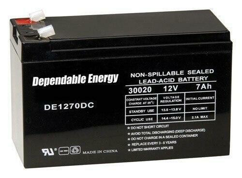American Hunter American Hunter Battery - Rechargeable 12v 7amp Tab Top