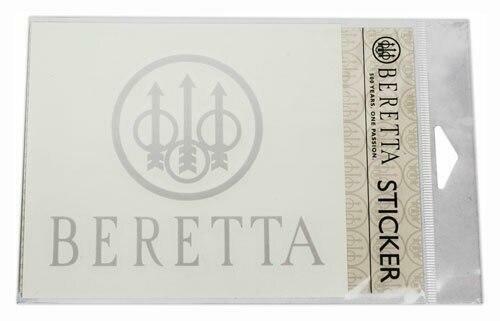 Beretta Beretta Trident Decal-white -