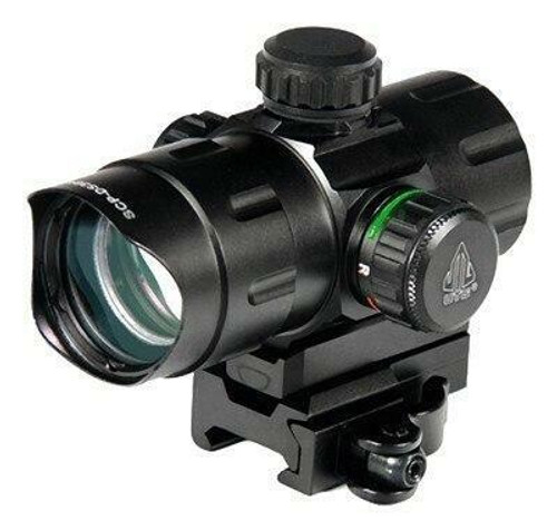 UTG Utg Red Dot 4.0 Moa Dot 38mm - With Integral Qd Mount
