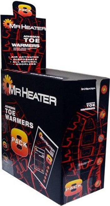 MrHeater Mrheater Toe Warmers 8 Pairs - Per Pack