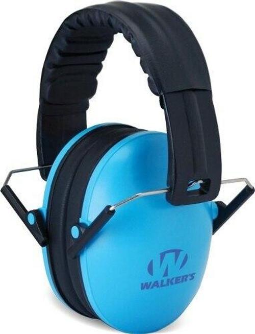 Walkers Walkers Muff Hearing - Protection Childrens 23db Blue