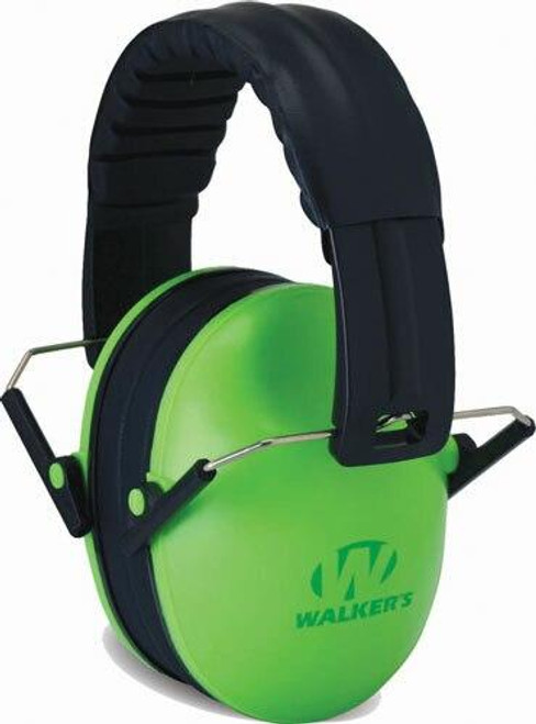 Walkers Walkers Muff Hearing - Protection Childrens 23db Lime
