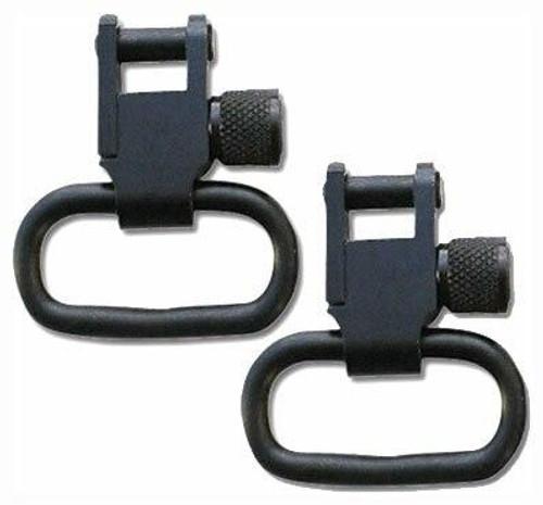 Grovtec Grovtec Locking Swivel 1 - Black Only 2-pack