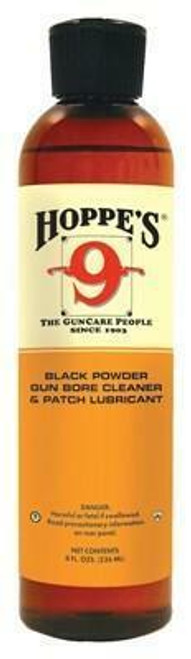 Hoppes Hoppes #9 Blackpowder Solvent - And Patch Lube 8oz Sqbottle