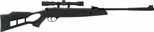 Hatsan Airguns Hatsan Edge Spring Combo .22 - W/optima 3-9x32 Black/synth