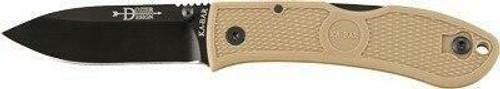 Ka-Bar Knives Ka-bar Dozier Folding Hunter - 3 Coyote Brown