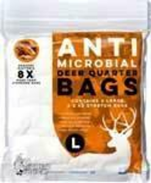 Koola Buck Koola Buck Anti-microbial Deer - Quarter Bag 4-pack