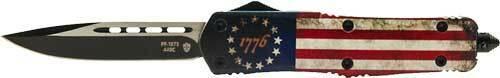 Templar Knife Templar Knife Large Otf Betsy - Ross Flag 3.5 Black Drop Pnt