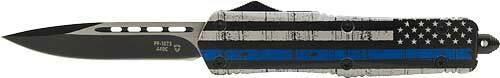 Templar Knife Templar Knife Large Otf Back - The Blue 3.5 Blk Drop Point