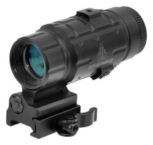 UTG Utg 3x Magnifier Flip To Side - Qd Mount