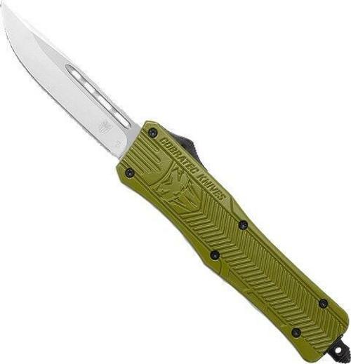 Cobratec Knives Cobratec Medium Ctk1 Otf - Od Green 3 Drop Point