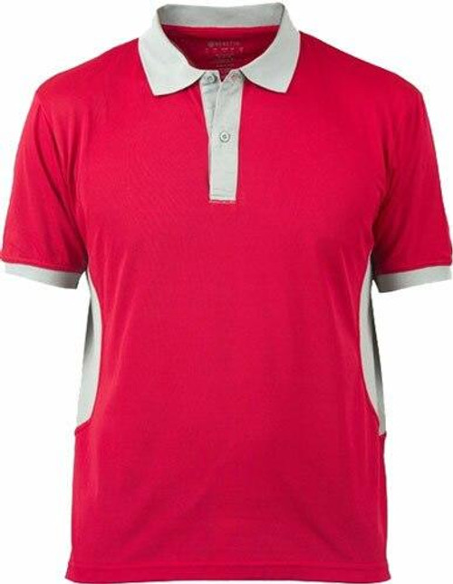 Beretta Special Purchase Beretta Mens Silver Pigeon - Polo Red/silver Largeless