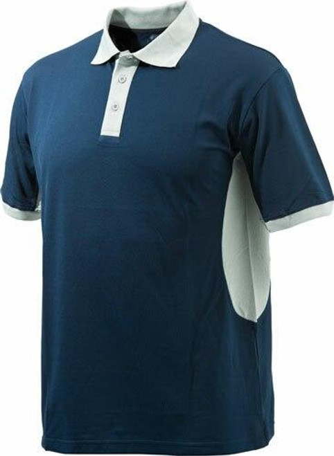 Beretta Special Purchase Beretta Mens Silver Pigeon - Polo Blue Navy/silver Mediumless