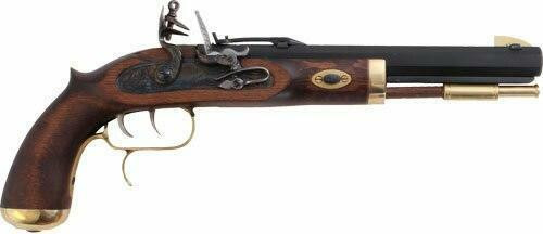 Traditions Traditions Trapper Pistol .50 - Flintlock Blued/hardwood