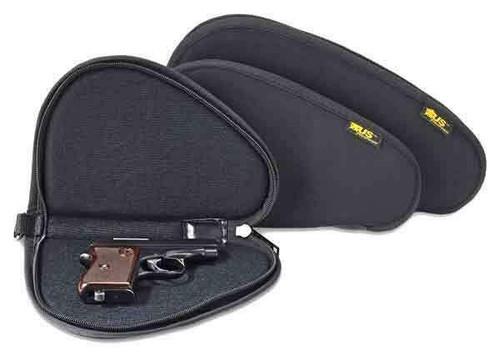 Us Peacekeeper Pistol Case 11 - Black 600 Denier Lockable