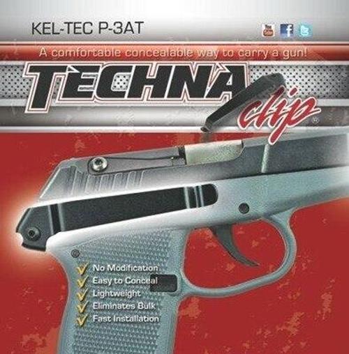 Techna Clips Techna Clip Handgun Retention - Clip Kel-tech P3at Right Side