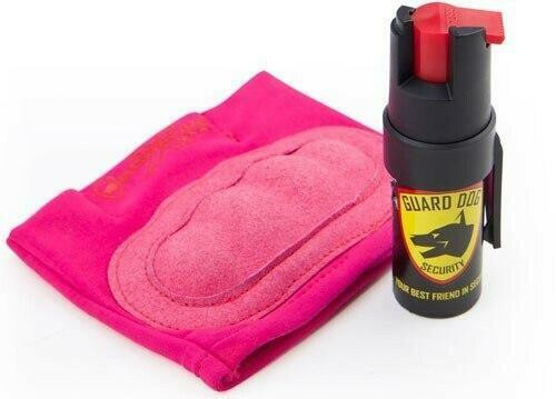Guard dog security Guard Dog Instafire Extreme - Pepper Spray and Knuckle Def Pnk