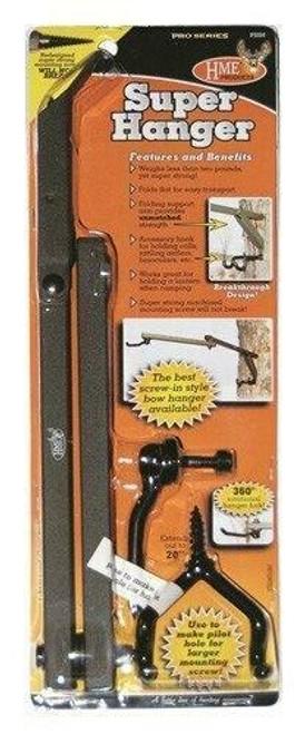 HME Products Hme Bow Hanger Super Hanger - 20 Folding W/acc Hooks 1ea