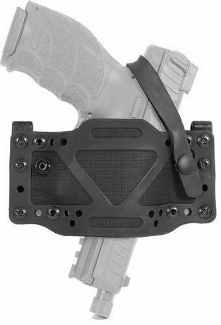 Limbsaver Limbsaver Holster Cross-tech - Clip-on W/secure Strap Black