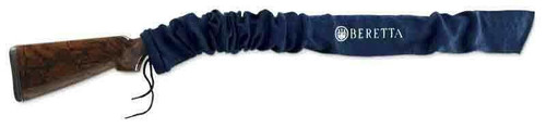 Beretta Beretta Gun Sock W/logo Blue - 52w/vapor Corrosion Inhibitor