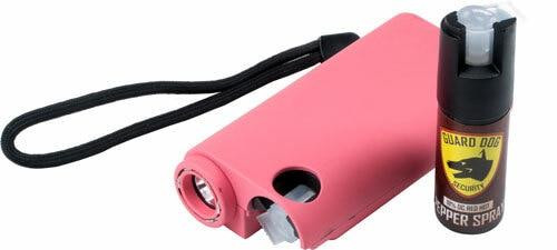 Guard dog security Guard Dog Olympian 3-in-1 Pink - Stun Gun/light/pepper Spray