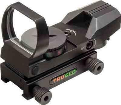 Truglo Truglo Panoramic Sight - 4-reticle Red/green Black
