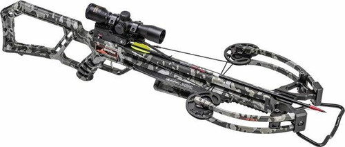 Wicked Ridge Xbow Kit M-370 - Rope-sled 370fps Peak Camo