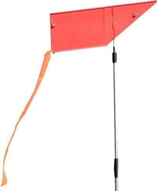 MTM Mtm Wind Reader Shooting Range - Flag Orange W/flag And Stake